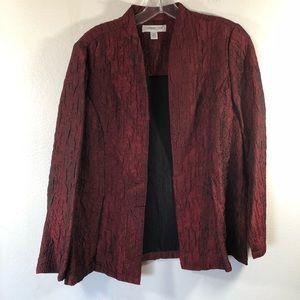Coldwater Creek Womens SZ Petite 8 Blazer Jacket